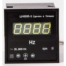 Частотомер цифровой щитовой ЦЧ0205-3