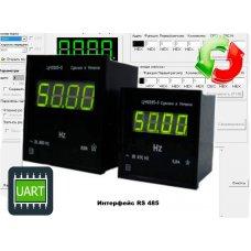 Частотомер цифровой щитовой ЦЧ0205-2-RS