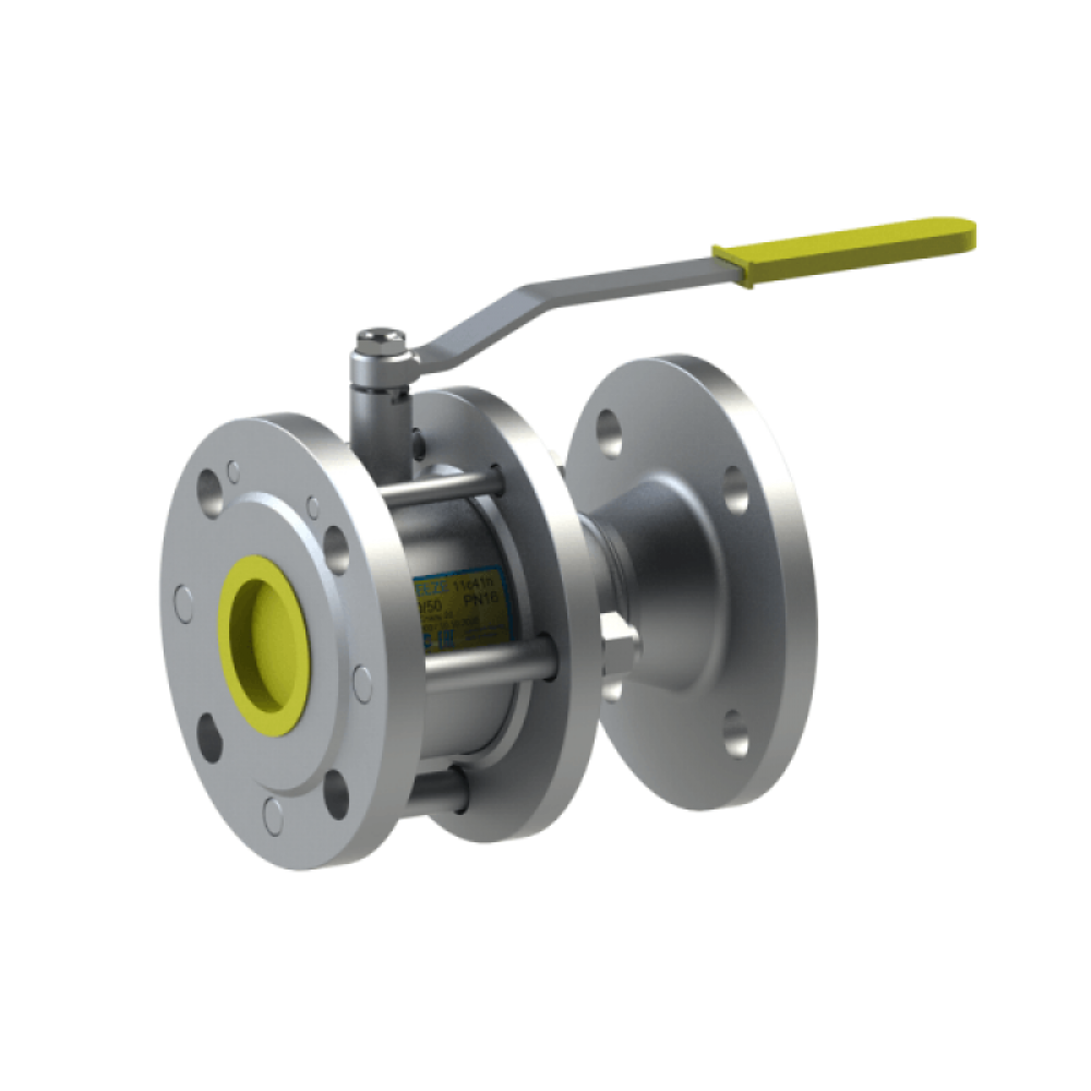 Кран шаровый запорный стальной 11с41п DN 65/50