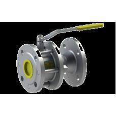 Кран шаровый запорный стальной 11с41п DN 100/80