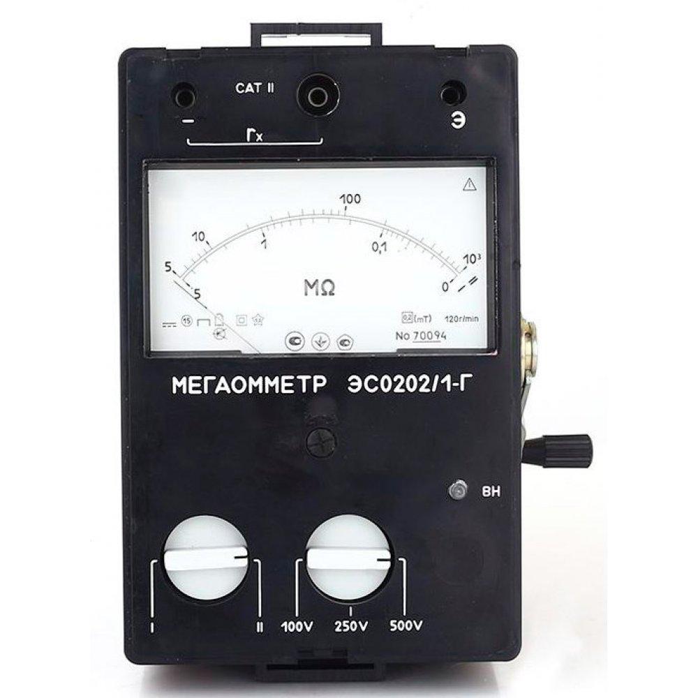 Мегаомметр ЭС0202/2Г (выпускается взамен М4100/1-5)