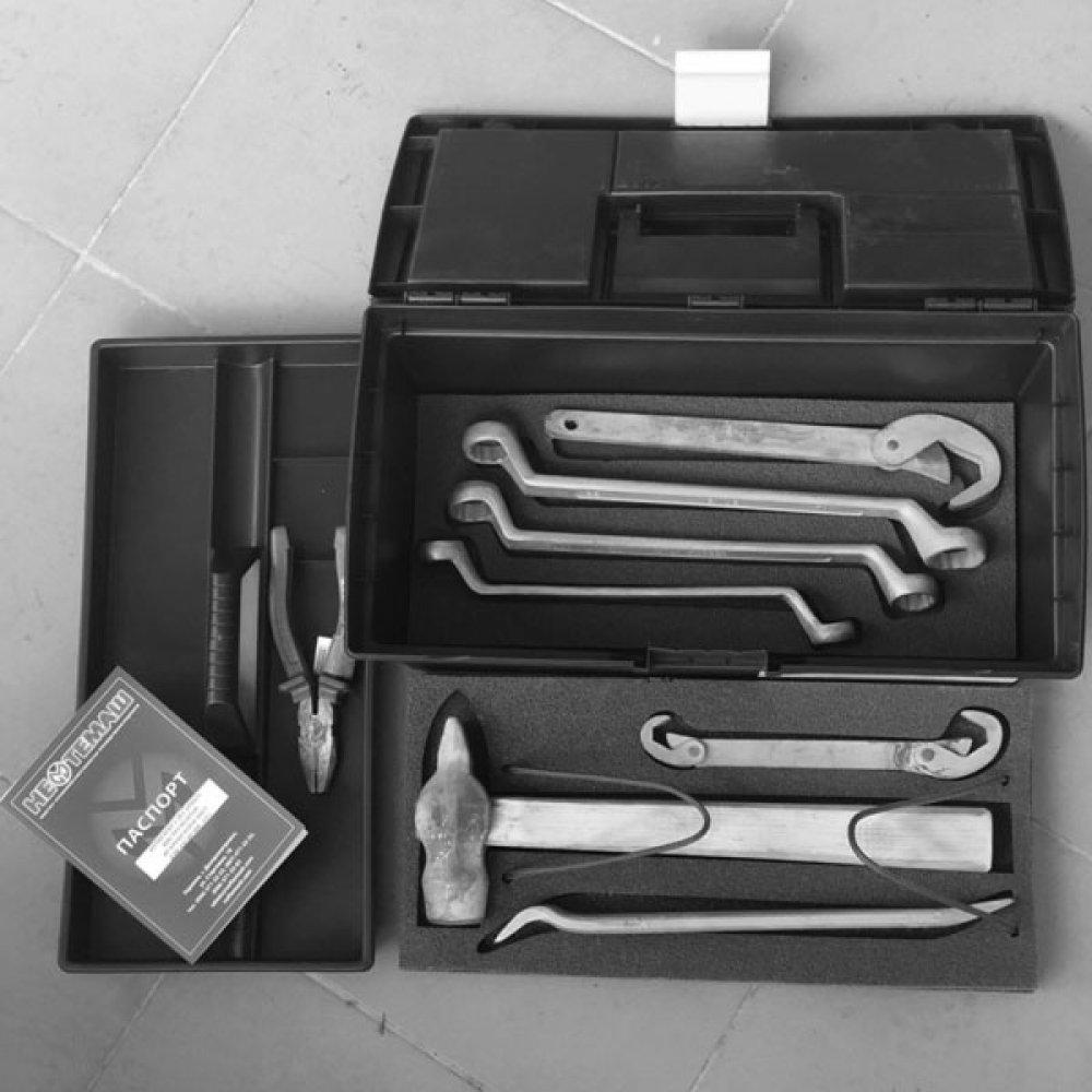 Комплект слесарных инструментов искробезопасных КСИИ-АЗС