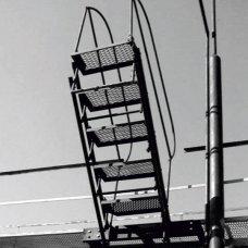 Відкидний місток естакадний з пружинним амортизатором МОЄ-3А ОЦ