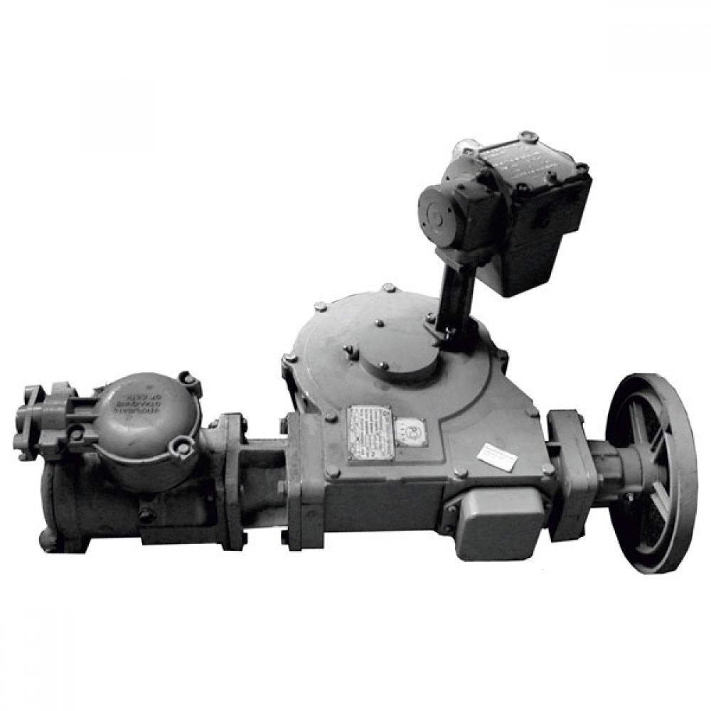 Механизм управления хлопушкой боковой с электроприводом МУ-3ЭЛ для ХП 400-600