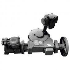 Механизм управления хлопушкой боковой ручной МУ-3Р для ХП 400-600