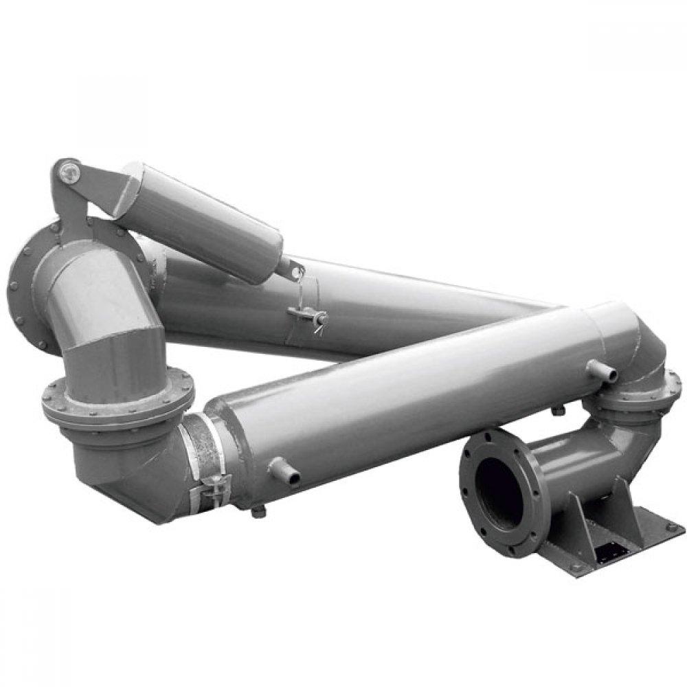 Установка нижнего слива-налива железнодорожных цистерн с пароподогревом УСН-175ГП ОЦ