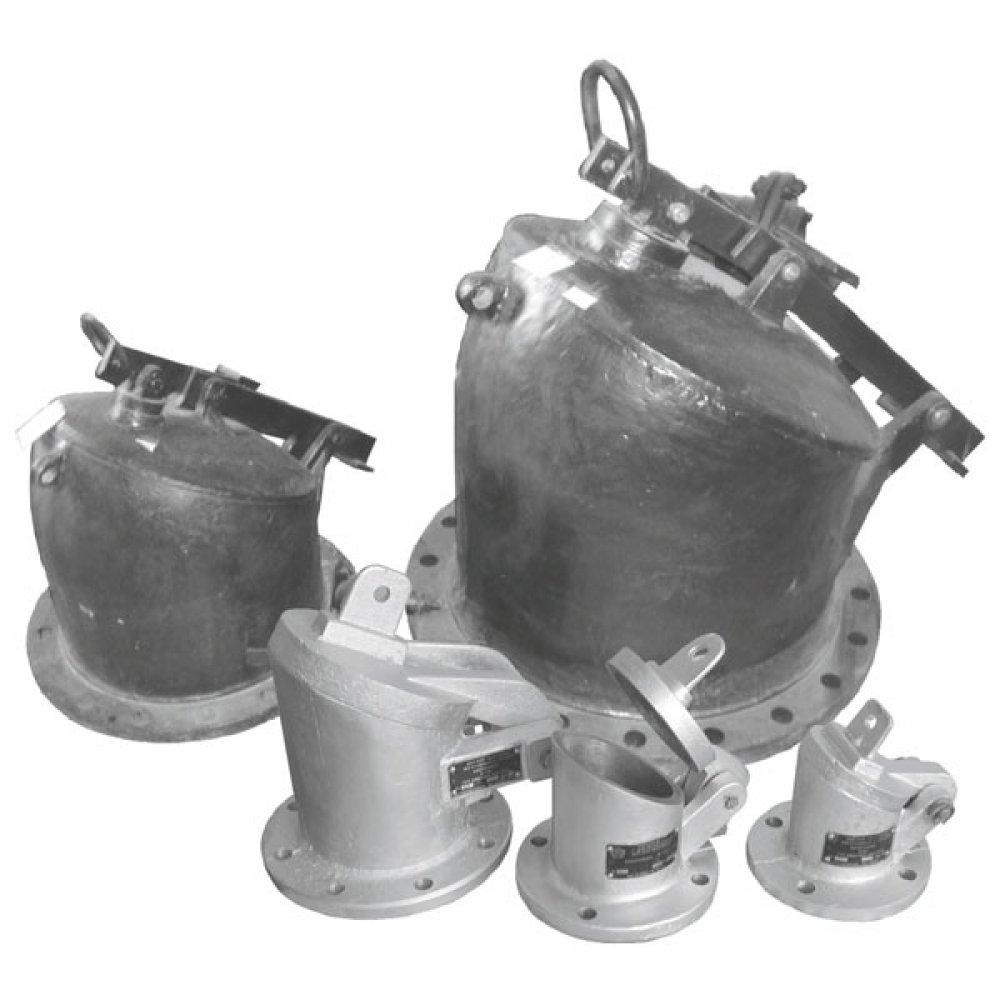 Хлопушка с перепуском ХП-300С (стальная)