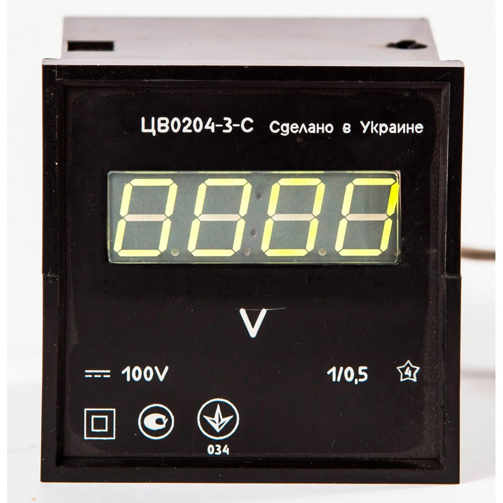 Вольтметр постоянного напряжения ЦВ0204-2